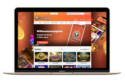 Leo Vegas Casino Screenshot